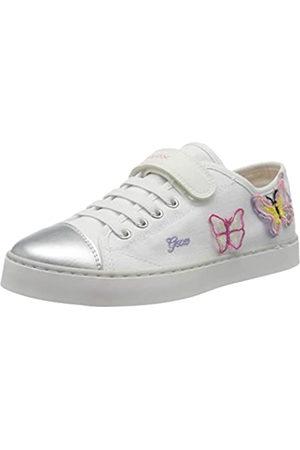 Geox Jr Ciak Girl I, Zapatillas para Niñas, (White/Pink C0406)