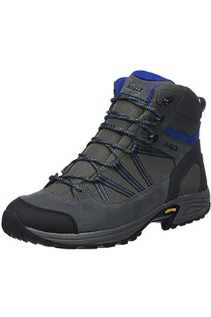 Aigle MOOVEN Mid Gore-Tex, Zapatos de High Rise Senderismo para Hombre, (Midgrey/Capri)