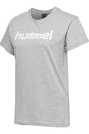 Hummel HMLGO Cotton Logo Camisetas, Mujer