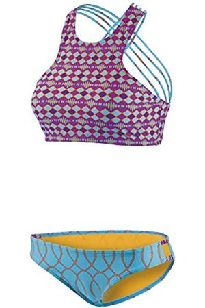 Beco Mujer Deportivo High Neck Interfaz con Tirantes Cruzados, extraíble Pads, B Cup Set Bikini, Mujer, 56130