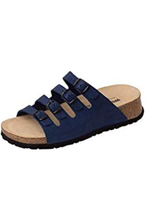 Weeger 11460, Zuecos para Mujer, (Blau Royalblau)
