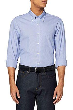 Brooks Brothers DS OG Ni Pbd PPT Mil Darted Hndsth Bl Camisa de Vestir