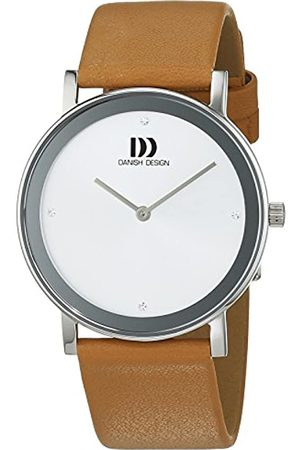 Danish Design Mujeres-Reloj analógico de Cuarzo de Cuero 3324575