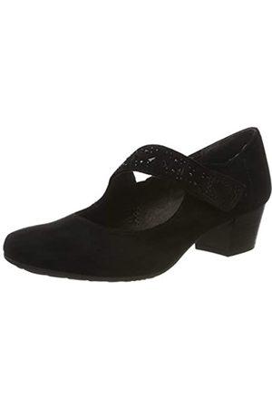 Jana 100% comfort 8-8-24303-23, Mocasines para Mujer, (Black 001)