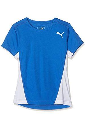 Puma Mädchen Cross The Line tee W T-Shirt, Team Power Blue White