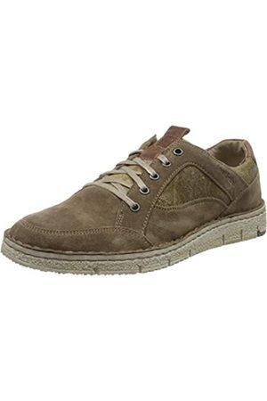 Josef Seibel Ruben 23, Zapatos de Cordones Derby para Hombre, (Taupe/Kombi 949 251)