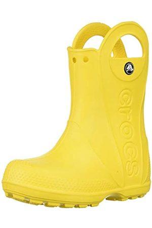 Crocs Handle It Rain Boot K, Botas de Agua Unisex Niños, (Yellow)
