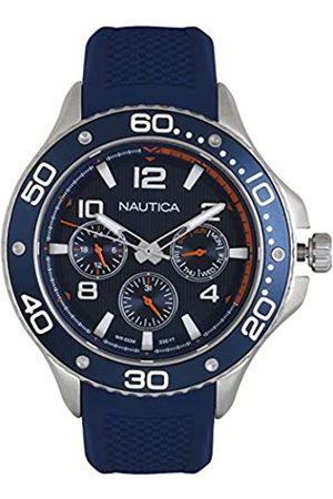Nautica RelojAnalogicoparaHombredeCuarzoconCorreaenSiliconaNAPP25002