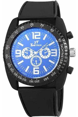 Shaghafi Herren-Reloj analógico de Cuarzo de Caucho 227221000001