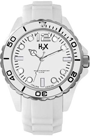 Haurex Reloj Analógico para Hombre de Cuarzo con Correa en Caucho SW382UW1