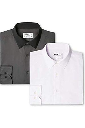 FIND 2 Regular Fit Collar, Camisa de Oficina para Hombre, 56 (Talla del Fabricante: 17)