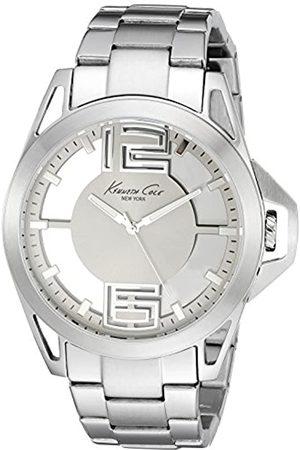 Kenneth Cole Reloj Analógico para Hombre de Cuarzo con Correa en Acero Inoxidable 10022529