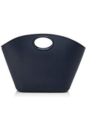 O bag Borsa SharmMujerCarteras de manoAzul (Blu Navy)47x12x32.5 Centimeters (W x H x L)