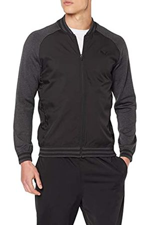 Puma Herren Bomber Jacket Pullover, Medium Gray Heather
