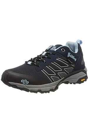 Bruetting Mount Blake, Zapatos de Low Rise Senderismo para Mujer, Marine/Blau