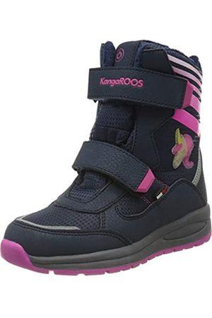 KangaROOS Flashy SL RTX, Botas de Nieve Unisex Niños, Dk Navy/Daisy Pink 4204
