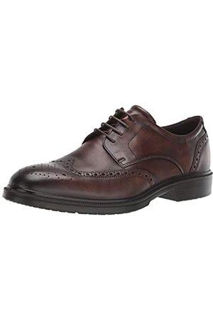 Ecco Lisbon, Zapatos de Cordones Brogue para Hombre, (Cocoa Brown 1482)