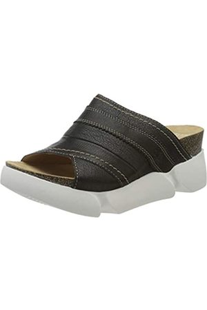 Fly London Suze582fly, Mules para Mujer, (Black 006)