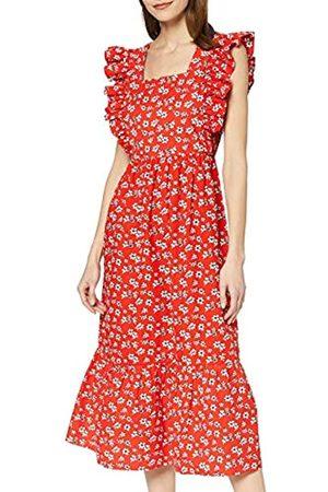 FIND Marca Amazon - Mujer Vestido Largo Boho de Flores