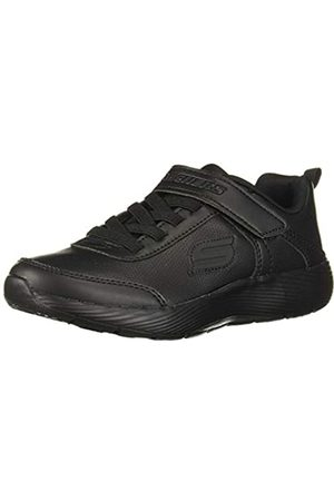 Skechers Dyna-Lite School Sprints, Zapatillas para Niñas, (Black Duraleather/Trim BBK)