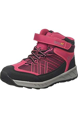 Regatta Samaris V Junior Waterproof Hiking Boot, Botas de Senderismo Unisex Niños, (Dark Cerise/Neon Pink Zv2)