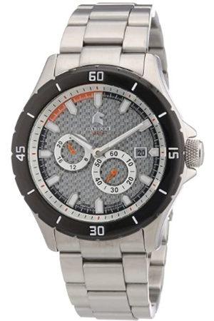 Carucci Watches CA2187ST-SL - Reloj analógico automático para Hombre, Correa de Acero Inoxidable Color (Agujas luminiscentes
