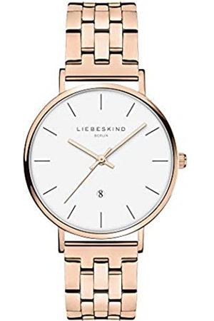 liebeskind Reloj Analógico para Mujer de Cuarzo con Correa en Acero Inoxidable LT-0213-MQ