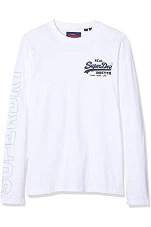 Superdry Vintage Logo Linear LS tee Camisa Manga Larga