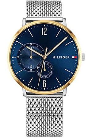 Tommy Hilfiger Reloj Multiesfera para Hombre de Cuarzo con Correa en Acero Inoxidable 1791505