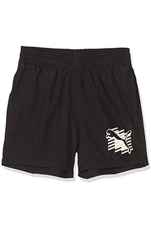 Puma ESS+ Summer Shorts Cat B Pantalones Cortos, Niños, Black