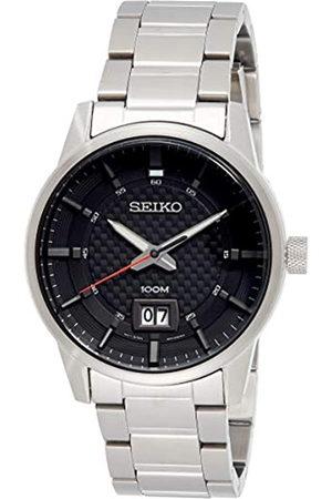 Seiko Reloj Analogico para Hombre de Cuarzo con Correa en Acero Inoxidable SUR269P1