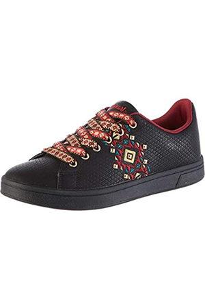 Desigual Shoes Cosmic Navajo, Zapatillas para Mujer, (Black 2000)