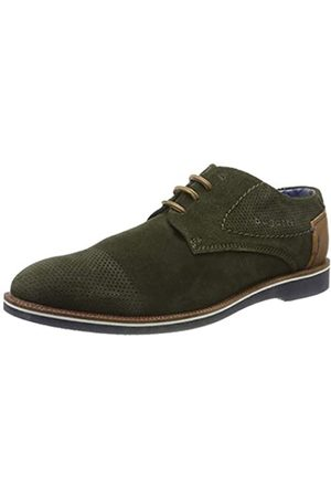 Bugatti 311647021400, Zapatos de Cordones Derby para Hombre, (Green 7000)