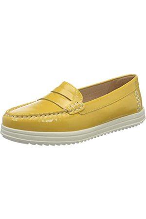 Geox D Genova Moc C, Mocasines para Mujer, (Lt Yellow C2004)