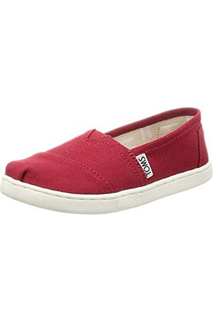 TOMS Alpargata Core, Unisex bebé, (Red Canvas 610)