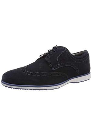 Geox U Blainey a, Zapatos de Cordones Brogue para Hombre