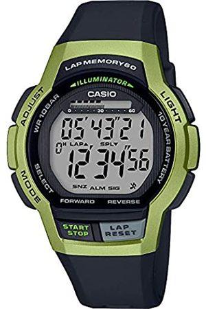 Casio Reloj Digital para Hombre de Cuarzo con Correa en Resina WS-1000H-3AVEF