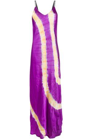 Palm Angels Slip dress con motivo tie-dye
