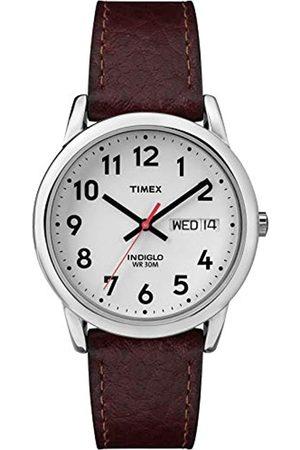 Timex T200419J - Reloj análogico de cuarzo con correa de cuero para hombre
