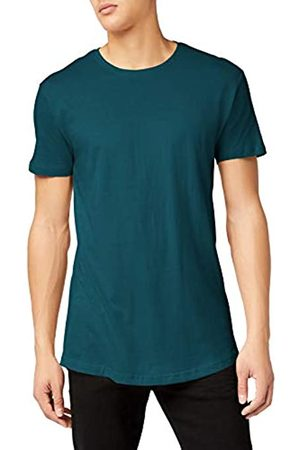 Urban classics Shaped Long Tee, Camiseta Hombre, Verde (Jasper 1149)