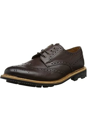 Chatham Eaton, Zapatos de Cordones Brogue para Hombre, (Dark Brown 001)