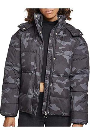 Urban classics Ladies Boyfriend Camo Puffer Jacket Chaqueta