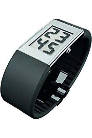Rosendahl Watch II - Reloj digital de caballero de cuarzo con correa de goma negra - sumergible a 30 metros