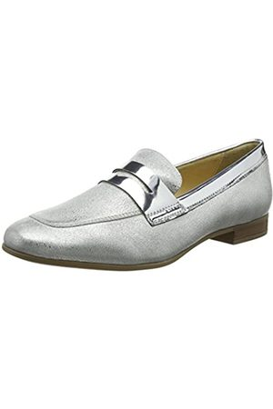 Geox D Marlyna B, Mocasines para Mujer, (Silver)