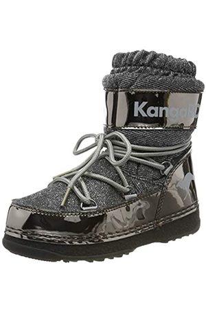 KangaROOS K-Moon, Botas de Nieve Unisex Niños, Steel Metallic/Vapor Grey 2110