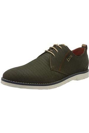 Bugatti 311919011400, Zapatos de Cordones Derby para Hombre, (Green 7000)