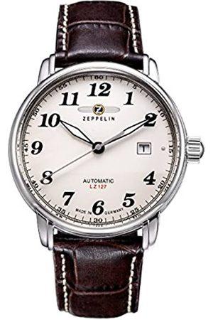 Zeppelin Reloj Analógico Automático para Hombre con Correa de Piel – AE310-1