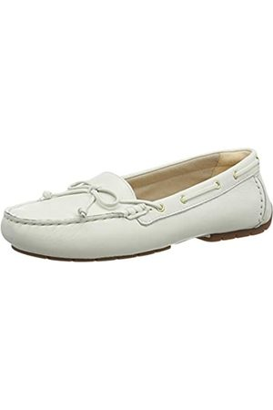Clarks C MOCC Boat, Mocasines para Mujer, (White Leather White Leather)