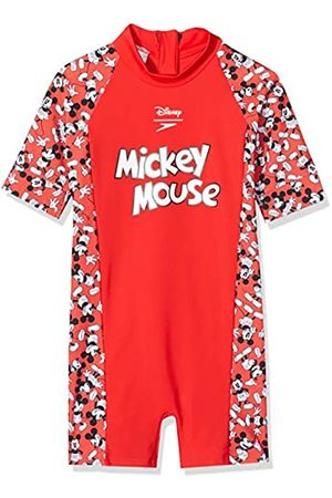 Speedo Disney Mickey Mouse Unisex para Niños Mono De Baño