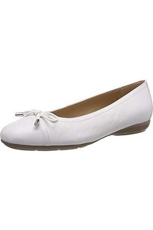 Geox D Annytah D, Bailarinas para Mujer, (White C1000)